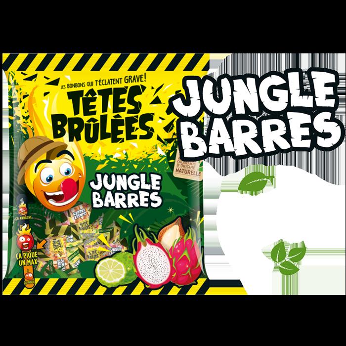 Bonbons Têtes Brûlées Jungle